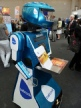 Roving robot for exhibitions and sales promotions
